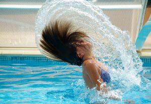 Swimmer Hair