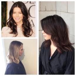 Jessica Biel Hair Inspiration