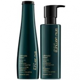 Shu Uemura extreme hair repair shampoo and conditioner in philadelphia